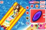 لعبة الفتاة و البحر