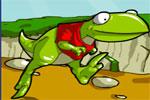 لعبة الديناصور النطاط