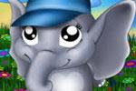 لعبة الفيل في الغابة