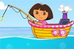 لعبة صيد سمك مركب دورا