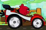 لعبة انجرى بيرد سباق السيارات