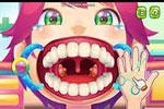 لعبة عملية تنظيف الاسنان