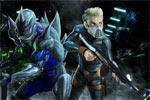 لعبة حرب وحوش الفضاء الخارجى
