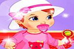 لعبة تلبيس بنات صغار طفلة بيبى مولوده