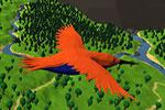 لعبة طيران  الطائر الحقيقي
