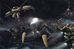 لعبة حرب الفضاء المظلم