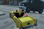 لعبة السيارة المجنونة كريزى تاكسى