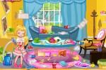 لعبة تنظيف غرف المنزل