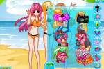 لعبة تلبيس الاميرات على الشاطئ