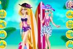 لعبة ملابس البحر انا و صديقتي