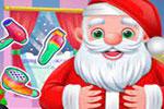 لعبة بابا نويل الجديدة تصفيف الشعر