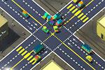 لعبة حوادث السيارات عبور الطريق المرور