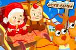 لعبة اطفال سهلة تلبيس اطفال حلوين
