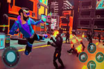 لعبة قتال الشوارع سيف النار
