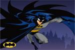لعبة باتمان يطير فوق السماء