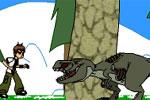 لعبة بن تن قتال الديناصورات