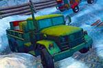 لعبة قياده سيارة نقل البضائع على الجليد