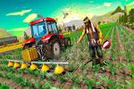 لعبة الجرار الزراعي في المزرعة السعيده 3d