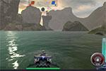 لعبة حرب  فوق سطح الماء