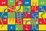 لعبة السلم والثعبان للاطفال 3d
