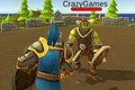 لعبة حرب الفرسان والعفاريت